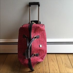 DVF Travel Rolling Duffy Carry-on luggage
